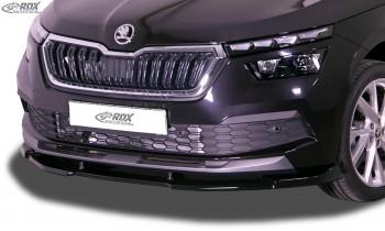 RDX Frontspoiler VARIO-X für SKODA Kamiq (NW) Frontlippe Front Ansatz Vorne Spoilerlippe