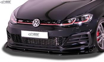 RDX Frontspoiler VARIO-X für VW Golf 7 GTI TCR Facelift 2017+ Frontlippe Front Ansatz Vorne Spoilerlippe