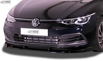 RDX Frontspoiler VARIO-X für VW Golf 8 Frontlippe Front Ansatz Vorne Spoilerlippe