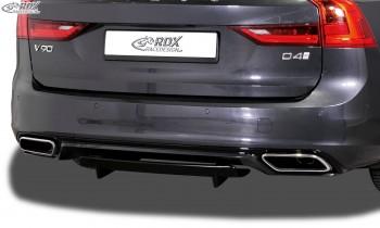 RDX Heckdiffusor U-Diff XL VOLVO V90 / S90 R-Design (2016+) Diffusor Heck Ansatz