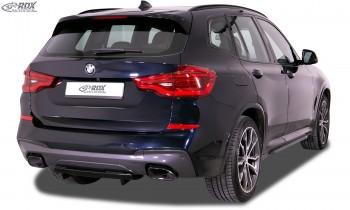 RDX Heckdiffusor U-Diff XL für BMW X3 (G01) für M-Sport & M-Aerodynamik-Paket Diffusor Heck Ansatz
