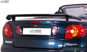 RDX rear spoiler RENAULT Megane 1 Cabrio & Coupe & Classic Rear Wing