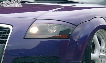 RDX Scheinwerferblenden für AUDI TT 8N Böser Blick