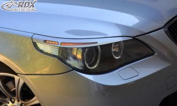 RDX Scheinwerferblenden für BMW 5er E60 / E61 -2007 Böser Blick