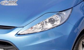 RDX Scheinwerferblenden FORD Fiesta MK7 JA8 JR8 (2008-2012) Böser Blick