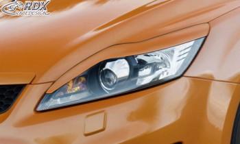 RDX Scheinwerferblenden für FORD Focus 2 Facelift 2008+ Böser Blick