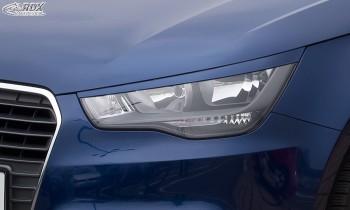 RDX Scheinwerferblenden AUDI A1 8X & A1 8XA Sportback (-01/2015) Böser Blick