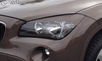 RDX Scheinwerferblenden für BMW X1 E84 -2012 Böser Blick
