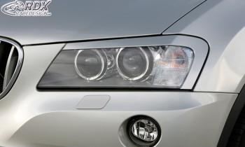 RDX Scheinwerferblenden BMW X3 F25 2010-2014 Böser Blick