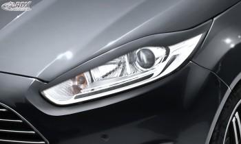RDX Scheinwerferblenden für FORD Fiesta MK7 JA8 JR8 (2012+) Böser Blick