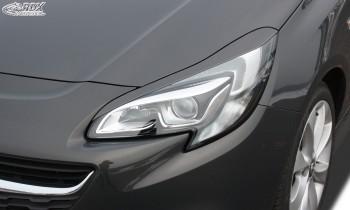 RDX Scheinwerferblenden für OPEL Corsa E Böser Blick