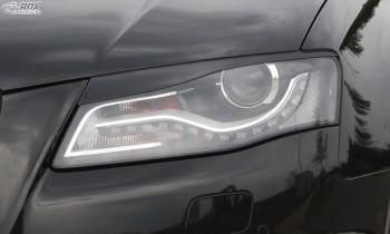 RDX Scheinwerferblenden für AUDI A4 B8, B81, 8K (2008-2011) Böser Blick