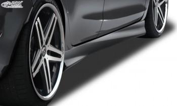 """RDX Seitenschweller für FORD Fiesta MK7 JA8 JR8 (2008-2012 & Facelift 2012+) """"Turbo"""