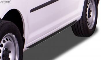 """RDX Seitenschweller für VW Caddy 2K (2003-2020) """"Slim"""""""
