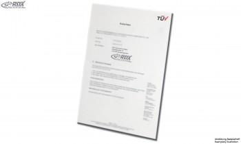 Gutachten für RDX Produkt: RDSL136