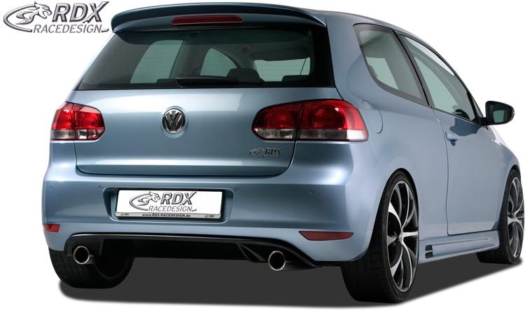 """RDX Heckansatz VW Golf 6 """"GTI-Look"""" Heckeinsatz Heckblende Diffusor"""