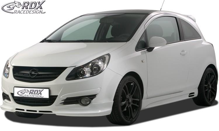 RDX Frontspoiler Opel Corsa D Frontlippe Front Ansatz Spoilerlippe