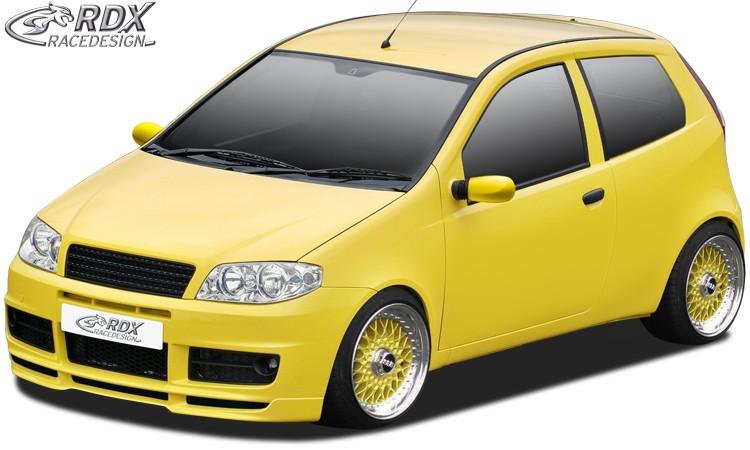 RDX Frontspoiler für FIAT Punto 2 Facelift SPORTING Frontlippe Front Ansatz Spoilerlippe