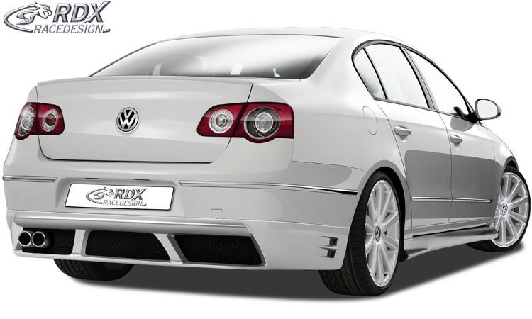RDX Heckansatz VW Passat 3C Limousine Heckschürze Heck