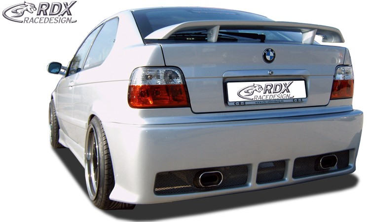 rdx heckspoiler bmw e36 compact gt race heckfl gel spoiler. Black Bedroom Furniture Sets. Home Design Ideas