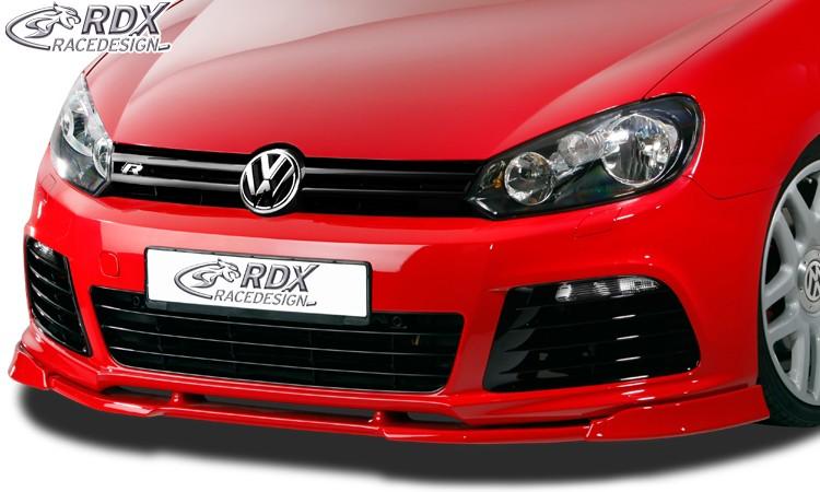 RDX Frontspoiler VARIO-X VW Golf 6 R Frontlippe Front Ansatz Vorne Spoilerlippe