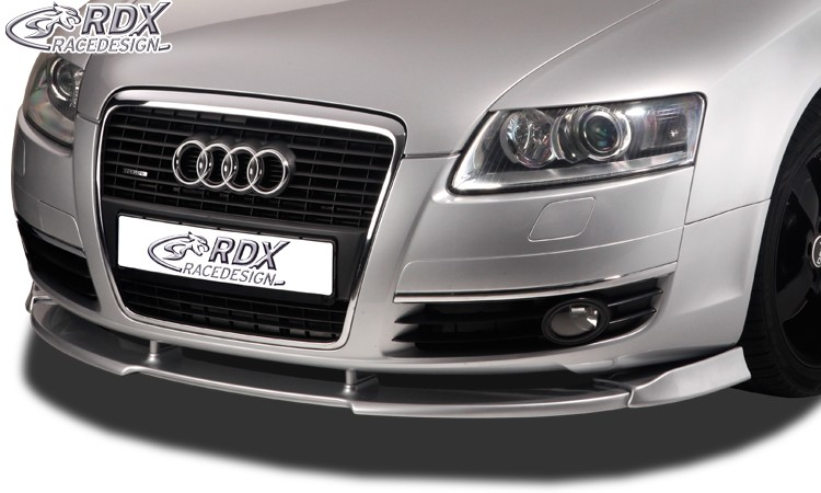 RDX Frontspoiler VARIO-X für AUDI A6 4F -2008 Frontlippe Front Ansatz Vorne Spoilerlippe