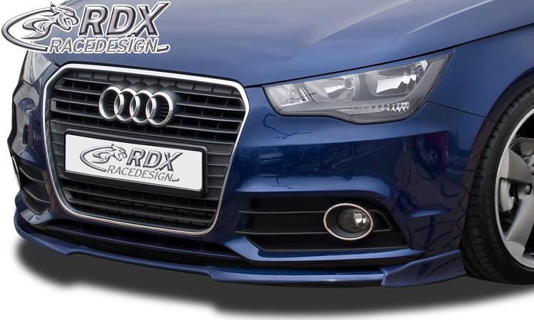 RDX Frontspoiler VARIO-X für AUDI A1 8X & A1 8XA Sportback (-01/2015, nicht S-Line) Frontlippe Front Ansatz Vorne Spoilerlippe