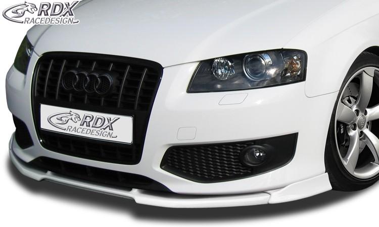 RDX Frontspoiler VARIO-X für AUDI S3 8P -2008 Frontlippe Front Ansatz Vorne Spoilerlippe