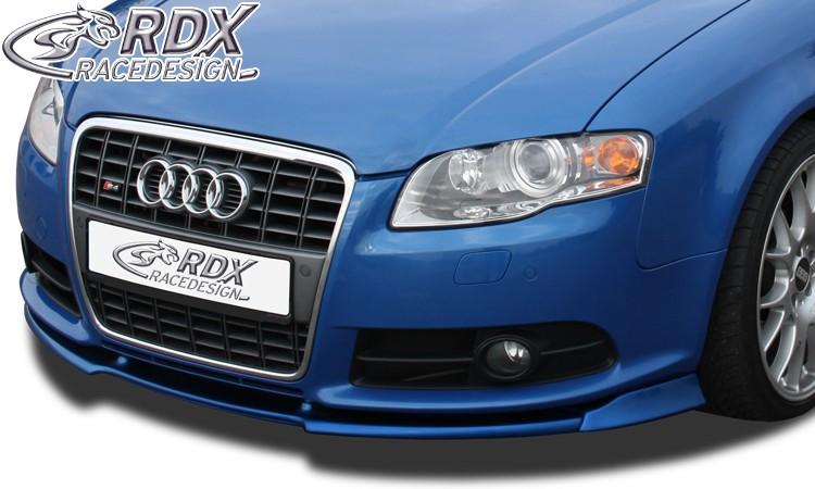 RDX Frontspoiler VARIO-X AUDI S4 B7 Frontlippe Front Ansatz Vorne Spoilerlippe