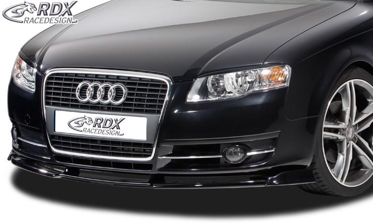 RDX Frontspoiler VARIO-X AUDI A4 B7 8H Cabrio 2005+ Frontlippe Front Ansatz Vorne Spoilerlippe