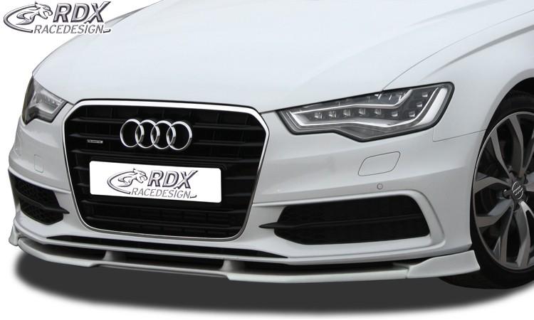 RDX Frontspoiler VARIO-X AUDI A6 4G C7 (S-Line- bzw. S6-Frontstoßstange) Frontlippe Front Ansatz Vorne Spoilerlippe