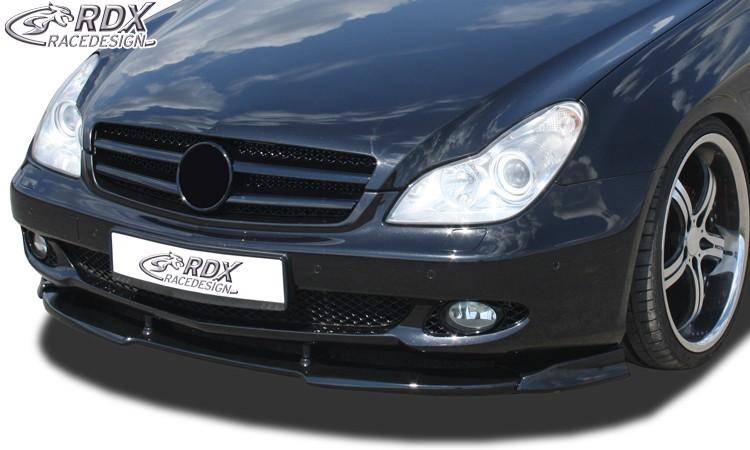 RDX Frontspoiler VARIO-X MERCEDES CLS-Klasse C219 2008+ Frontlippe Front Ansatz Vorne Spoilerlippe