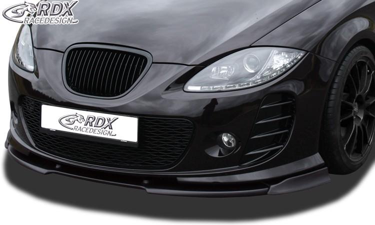 RDX Frontspoiler VARIO-X SEAT Leon 1P -2009 mit Seat Aerodynamik-Kit Frontlippe Front Ansatz Vorne Spoilerlippe