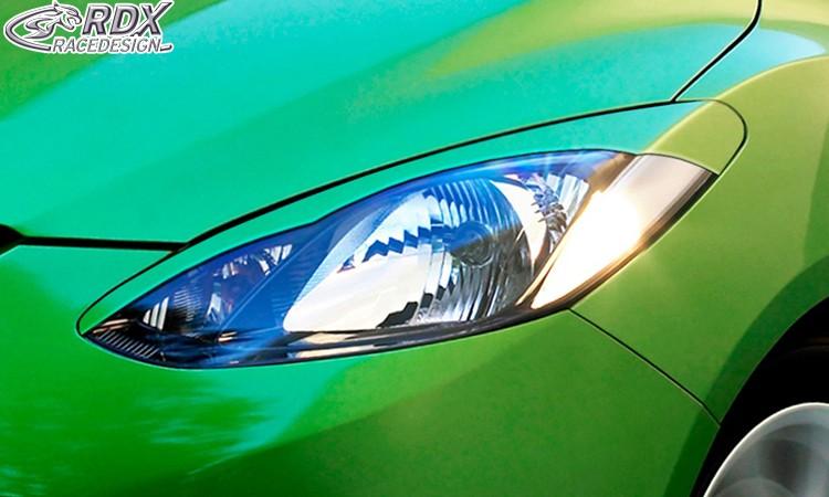 RDX Scheinwerferblenden Mazda 2 2007-2011 Böser Blick