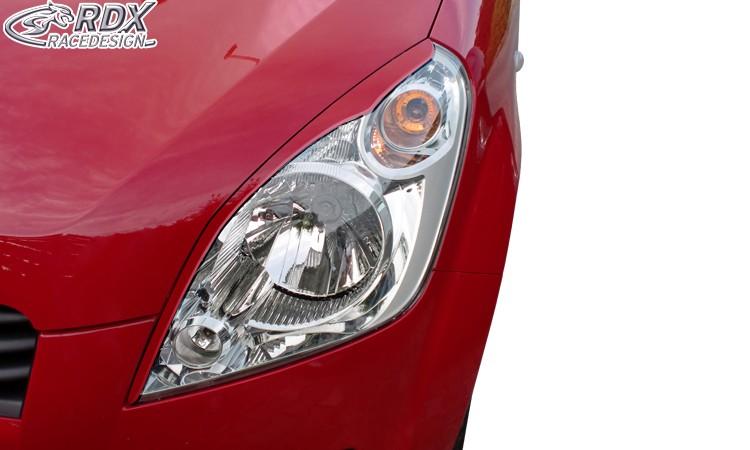 RDX Scheinwerferblenden für SUZUKI Splash 2008+ Böser Blick