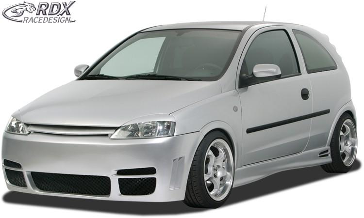 "RDX Frontstoßstange Opel Corsa C ""GT4"" Frontschürze Front"