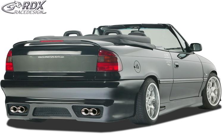 "RDX Heckstoßstange Opel Astra F Cabrio / Stufenheck ""GT-Race"" Heckschürze Heck"