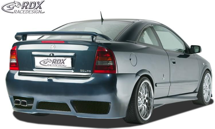 """RDX Heckstoßstange für OPEL Astra G Coupe / Cabrio """"GT-Race"""" Heckschürze Heck"""