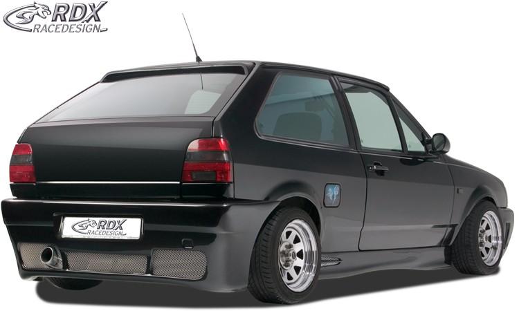 """RDX Heckstoßstange für VW Polo 3 / 86c2f Coupe mit KZ-Mulde """"GT4"""" Heckschürze Heck"""