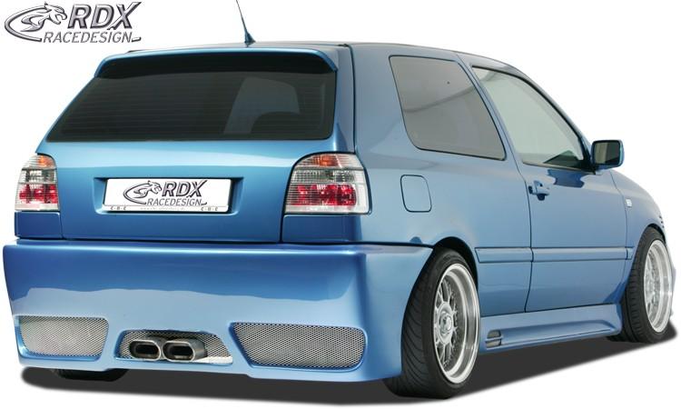 """RDX Heckstoßstange VW Golf 3 """"GT-Race"""" Heckschürze Heck"""