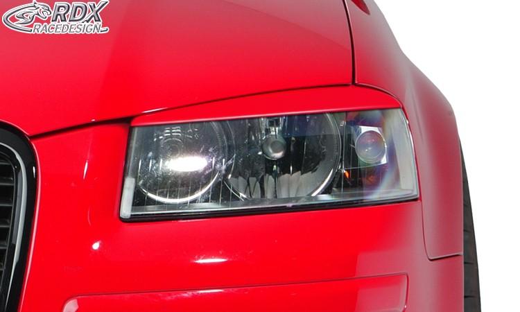 RDX Scheinwerferblenden für AUDI A3 8P Böser Blick