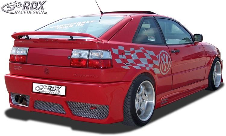 "RDX Heckstoßstange VW Corrado mit KZ-Mulde ""GT-Race"" Heckschürze Heck"