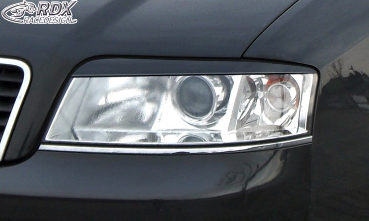 RDX Scheinwerferblenden Audi A6 4B Facelift (2001+) Böser Blick