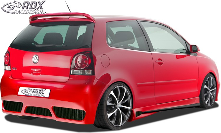 "RDX Heckstoßstange VW Polo 9N3 ""GT-Race"" Heckschürze Heck"