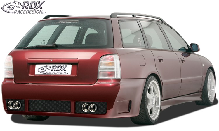 "RDX Heckstoßstange Audi A4 B5 Avant / Kombi ""GT-Race"" Heckschürze Heck"