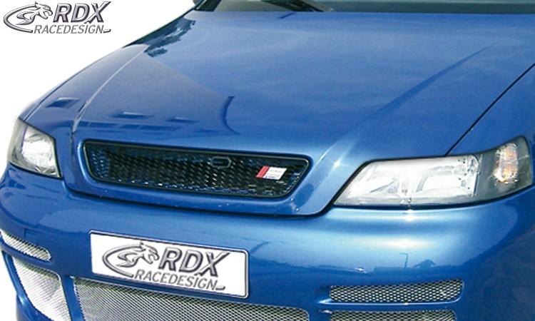 RDX Motorhaubenverlängerung für OPEL Astra G Coupe / Cabrio Böser Blick