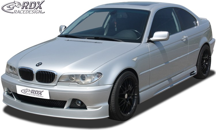 rdx frontspoiler bmw e46 coupe cabrio facelift 2003. Black Bedroom Furniture Sets. Home Design Ideas