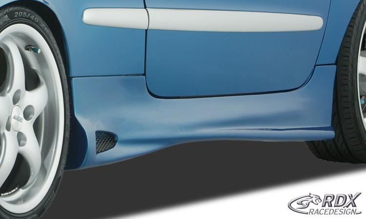 """RDX Seitenschweller Peugeot 206 / 206CC """"GT4 ReverseType"""""""