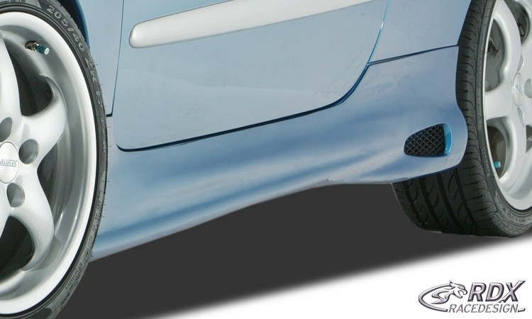 Peugeot 206 CC & 3 Dr Hatch GT-4 Side Skirts - GRP [Image 2]