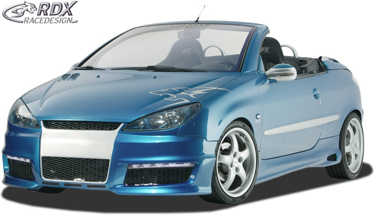 Peugeot 206 CC & 3 Dr Hatch GT-4 Side Skirts - GRP [Image 3]